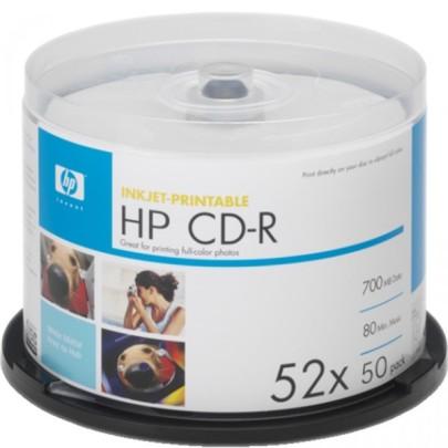 CD R HP 50шт. Диски