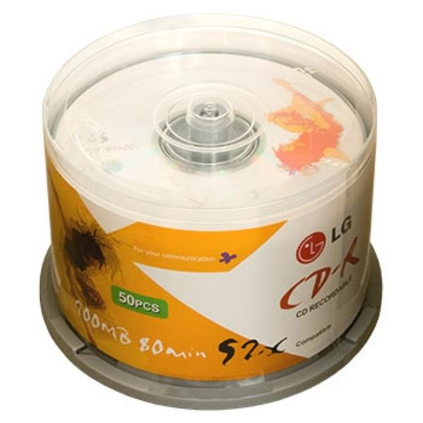 CD R LG 50шт. Диски