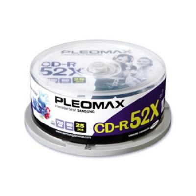 CD R Pleomax 25шт. Диски