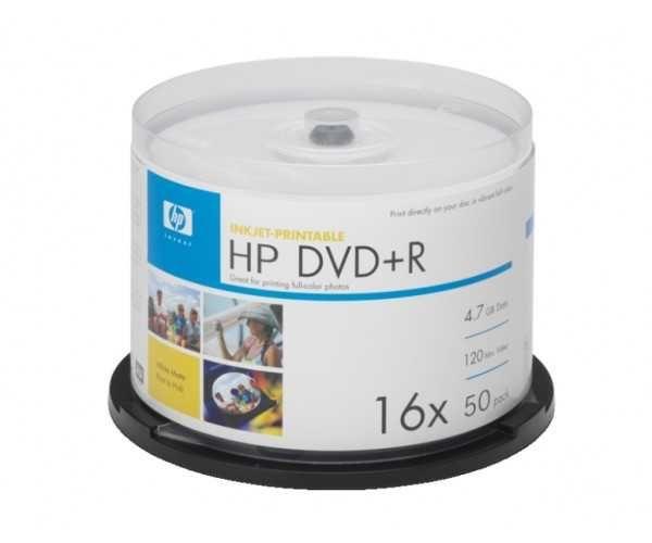 DVD R HP 50 шт 16x Диски