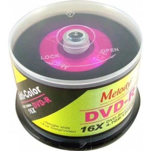 DVD R Melody двухслойный Диски