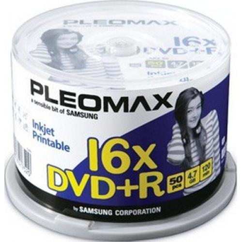 DVD R Pleomax 50шт. 16x Диски