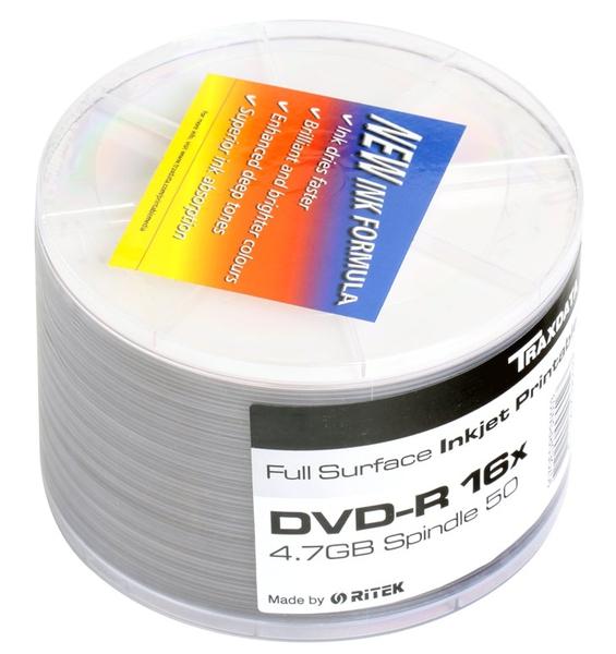DVD R Ritek 50шт.8 х Диски