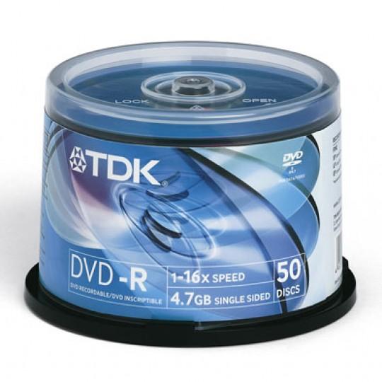DVD R TDK 50 шт. Диски
