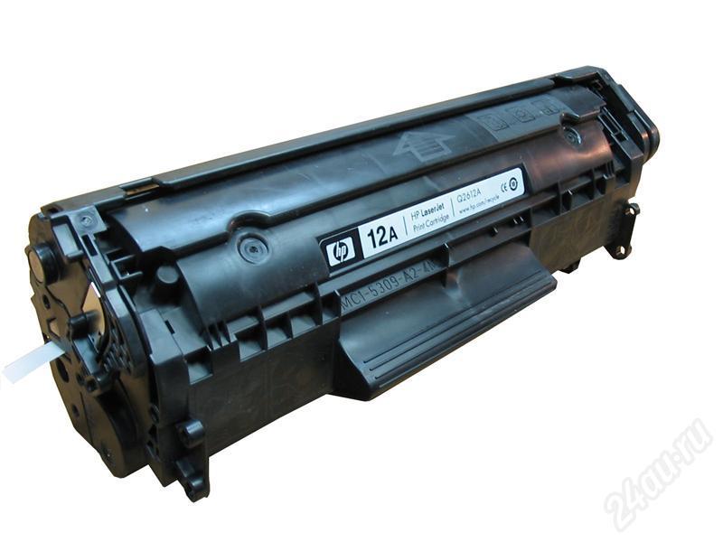 HP 12A Расходные материалы для принтеров
