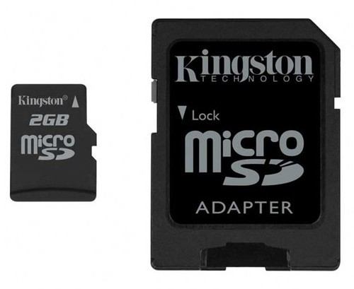 Kingston Micro SD 2GB Флешки