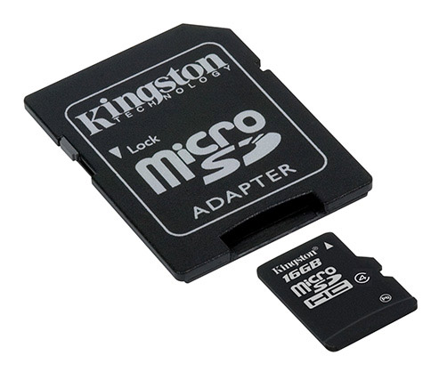 Kingston Micro SD 4GB Флешки