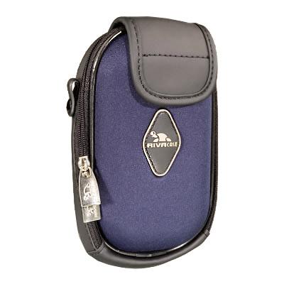 Riva 4050 PU Digital Case blue Сумки и чехлы для фотоаппаратов Riva Case