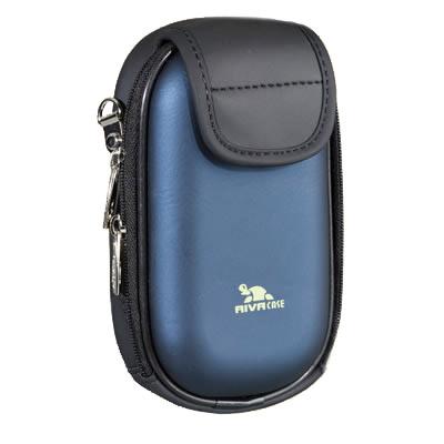 Riva 7003 PU Digital Case dark blue Сумки и чехлы для фотоаппаратов Riva Case