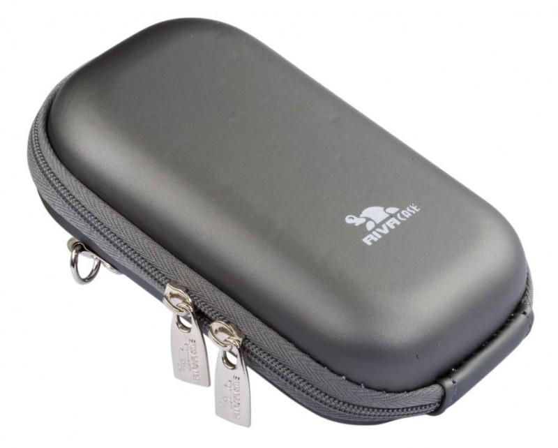 Riva 7004 PU Digital Case dark grey Сумки и чехлы для фотоаппаратов Riva Case