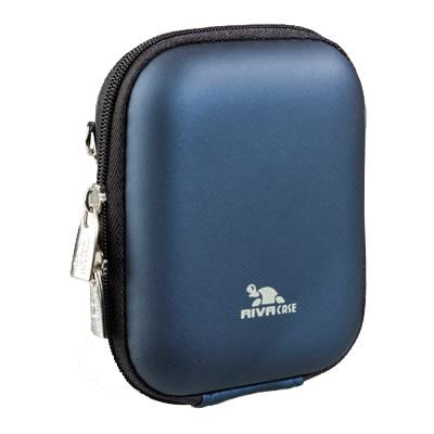 Riva 7006 PU Digital Case dark blue Сумки и чехлы для фотоаппаратов Riva Case