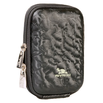 Riva 7022 PU Digital Case Black Shinny Wave Сумки и чехлы для фотоаппаратов Riva Case