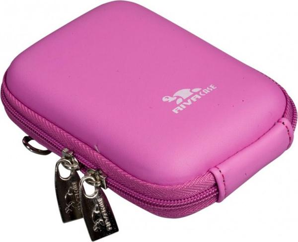 Riva 7022 PU Digital Case Pink Сумки и чехлы для фотоаппаратов Riva Case