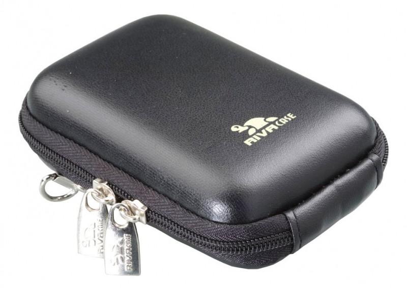 Riva 7022 PU Digital Case black leather Сумки и чехлы для фотоаппаратов Riva Case