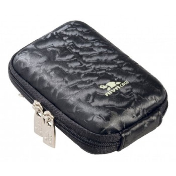 Riva 7022 PU Digital Case black perlamutr Сумки и чехлы для фотоаппаратов Riva Case