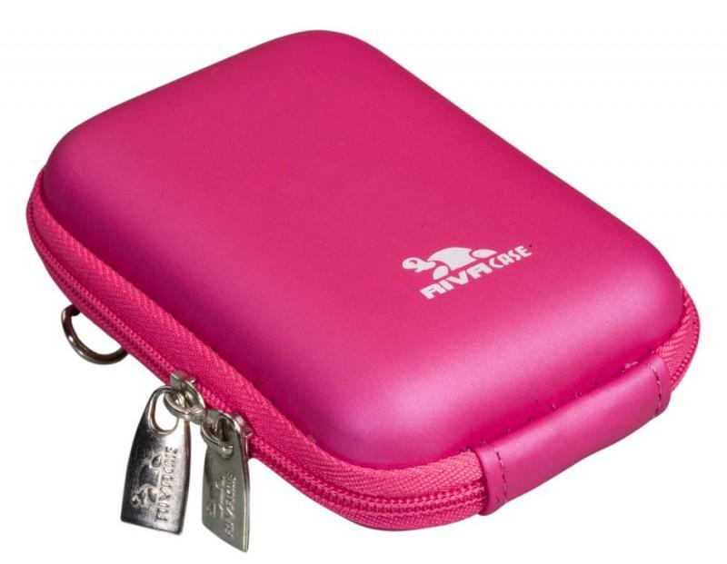 Riva 7022 PU Digital Case crimson Pink Сумки и чехлы для фотоаппаратов Riva Case