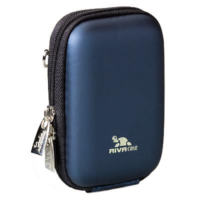Riva 7022 PU Digital Case dark blue Сумки и чехлы для фотоаппаратов Riva Case
