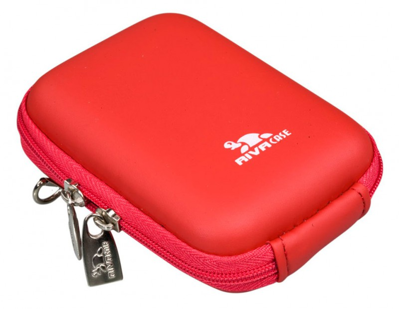 Riva 7022 PU Digital Case red Сумки и чехлы для фотоаппаратов Riva Case