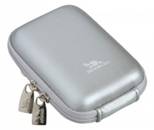 Riva 7022 PU Digital Case silver 300x253 Riva 7022 (PU) Digital Case silver