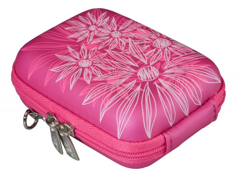 Riva 7023 PU Digital Case Grimson Pink Сумки и чехлы для фотоаппаратов Riva Case