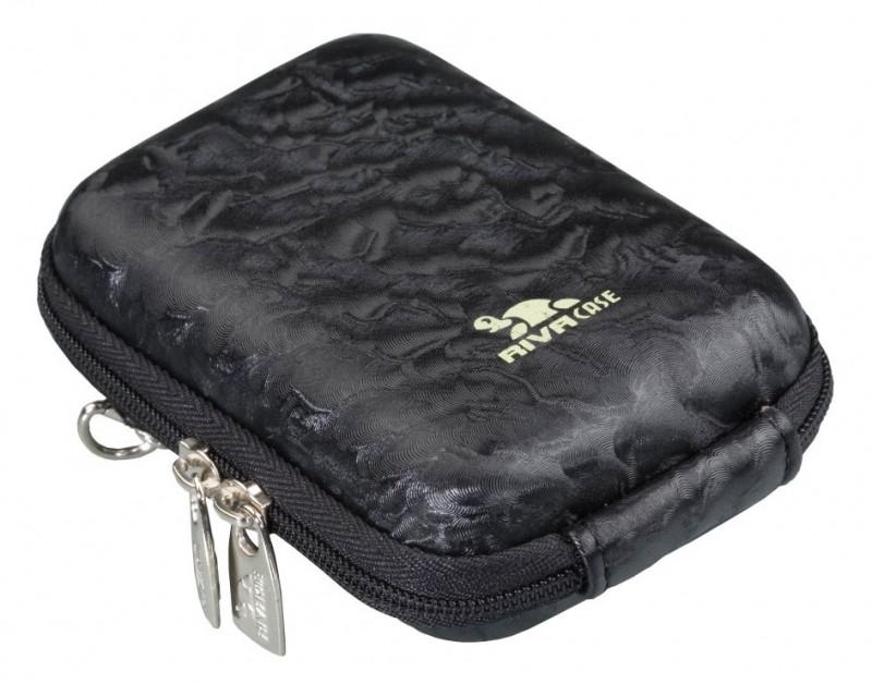 Riva 7023 PU Digital Case black перламутр Сумки и чехлы для фотоаппаратов Riva Case