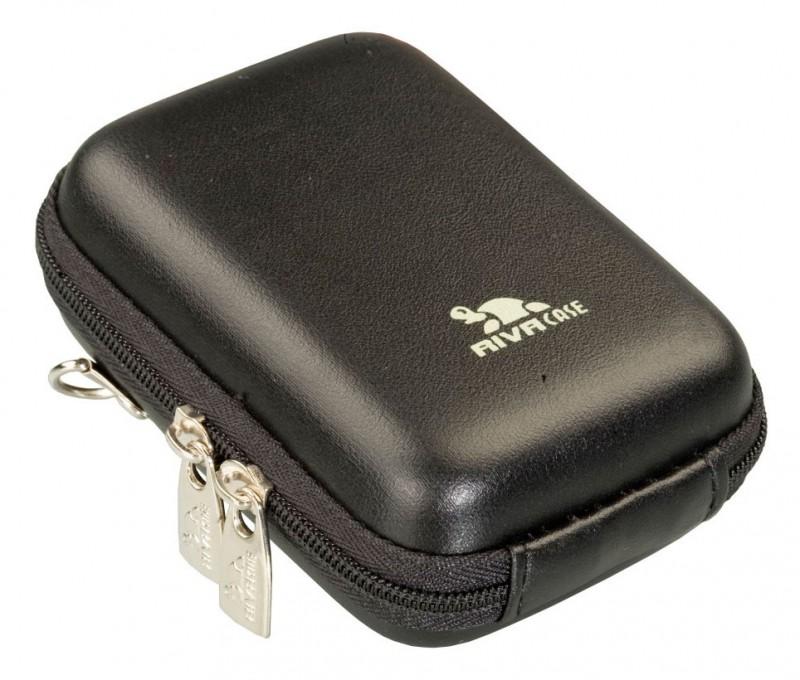 Riva 7023 PU Digital Case black leather Сумки и чехлы для фотоаппаратов Riva Case