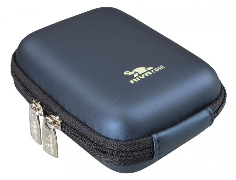 Riva 7023 PU Digital Case dark blue Сумки и чехлы для фотоаппаратов Riva Case