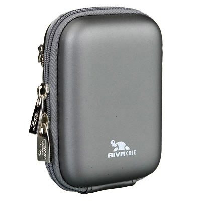 Riva 7023 PU Digital Case dark grey Сумки и чехлы для фотоаппаратов Riva Case
