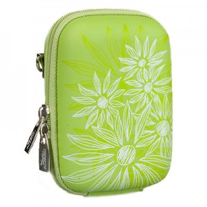 Riva 7023 PU Digital Case green flowers 300x300 Riva 7023 (PU) Digital Case green (flowers)