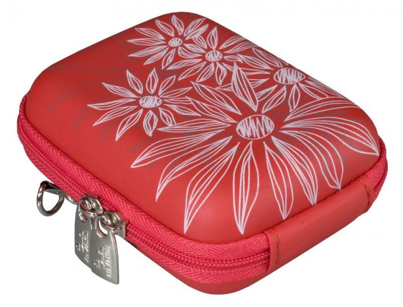 Riva 7023 PU Digital Case red flowers Сумки и чехлы для фотоаппаратов Riva Case
