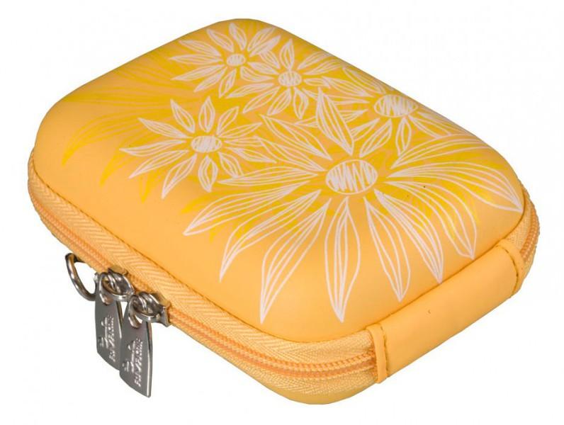 Riva 7023 PU Digital Case yellow flowers Сумки и чехлы для фотоаппаратов Riva Case
