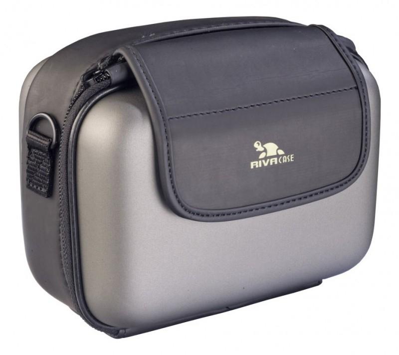 Riva 7050 PU Video Case dark grey Сумки для зеркальных фотоаппаратов и видеокамер Riva case