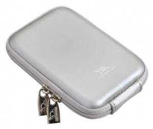 Riva 7062 PU Digital Case silver 300x254 Riva 7062 (PU) Digital Case silver