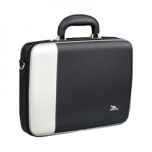 Riva 7095 01 PU NoteBook 15 Case 2 tone silver black 300x300 Riva 7095 01 (PU) NoteBook 15 Case 2 tone silver black