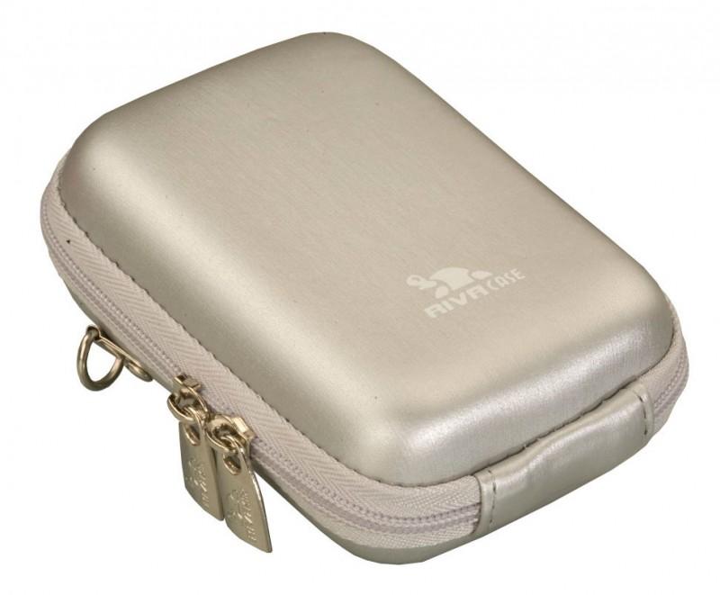 Riva 7103 PU Digital Case silver Сумки и чехлы для фотоаппаратов Riva Case