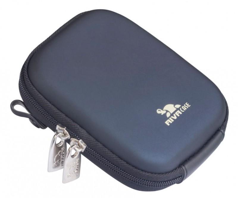 Riva 7107 PU Digital Case dark blue Сумки и чехлы для фотоаппаратов Riva Case