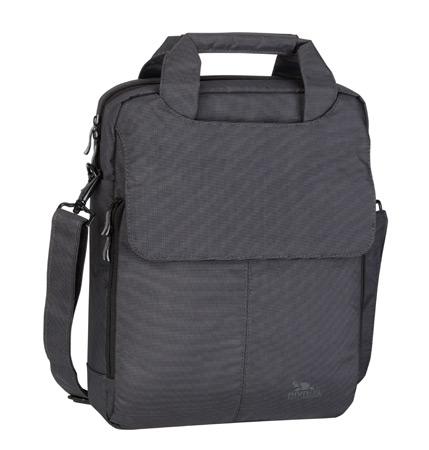 Riva 8270 charcoal black 121 Сумки для ноутбуков Riva case