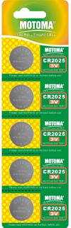 Мотома CR2032 5B 2407 3V 5 шт на блист.цена за 1 шт. Батареки, Зарядные устройста MOTOMA