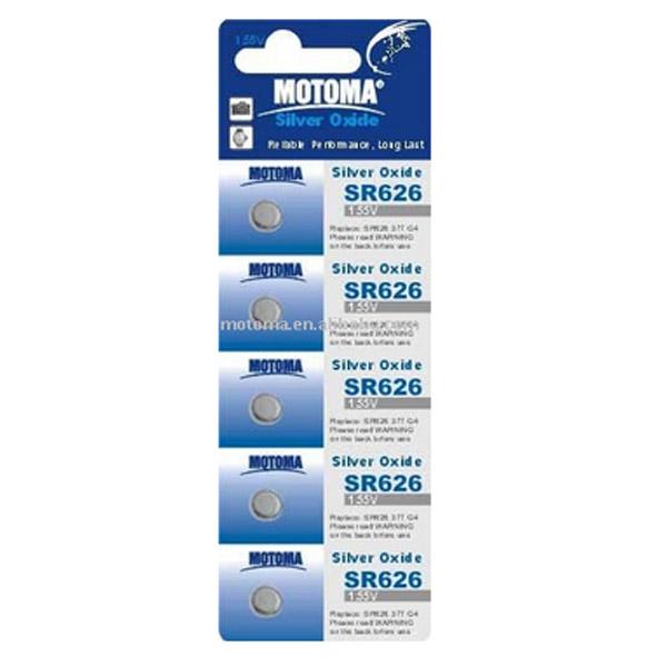 Мотома SR626 5B 3304 1.55V 5 шт на блист.цена за 1 шт. Батареки, Зарядные устройста MOTOMA