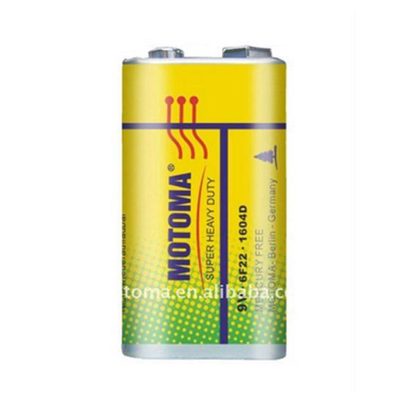 Motoma 6F22 1B alkaline 20шт. Батареки, Зарядные устройста MOTOMA