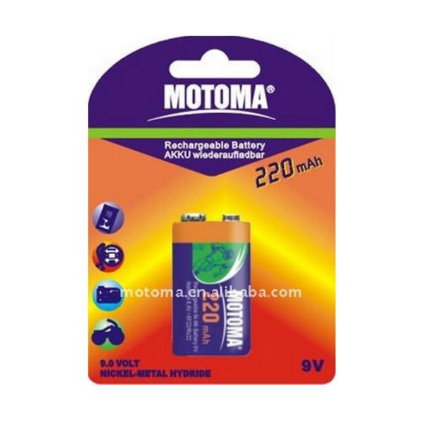 Motoma NH 9V220 аккум220mAH Батареки, Зарядные устройста MOTOMA