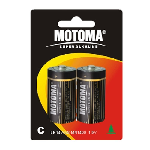 Motoma R14 С 2B alkaline 24шт. Батареки, Зарядные устройста MOTOMA