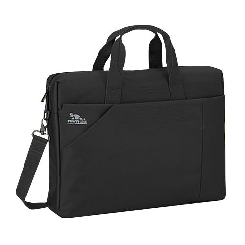 8150 black сумка для ноутбука 17 Сумки для ноутбуков Riva case