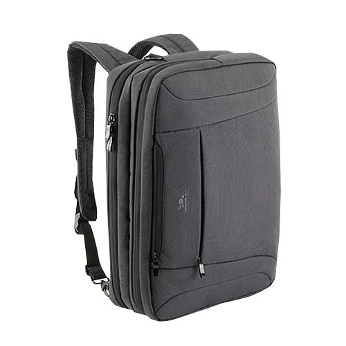 8290 charcoal black сумка трансформер для ноутбука 16 Сумки для ноутбуков Riva case