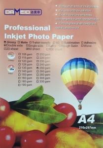 А4 для прин. 250 гр.Dameid 50л. gloss.двух. 209x300 Фотобумага (формата А3, А4, А5, А6)