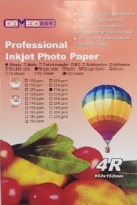 A6 для прин. 230 гр. 4R Dameid 100л.102152mm глян. 201x300 Фотобумага (формата А3, А4, А5, А6)