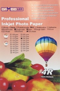 A6 для прин. 230 гр. 4R RC Dameid 100л.102152mm satin 200x300 Фотобумага (формата А3, А4, А5, А6)