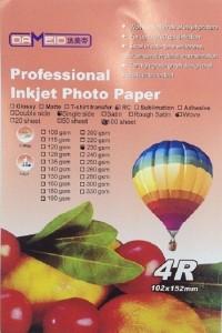 A6 для прин. 230 гр. 4R RC Dameid 100л.102152mm wove 200x300 Фотобумага (формата А3, А4, А5, А6)