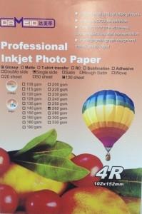 A6 для прин. 260 гр. 4R Dameid 100л.102152mm глян. 199x300 Фотобумага (формата А3, А4, А5, А6)