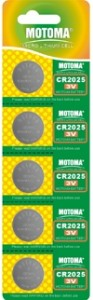 Мотома CR2025 5B 2406 3V 5 шт на блист.цена за 1 шт 93x300 Батареки, Зарядные устройста MOTOMA